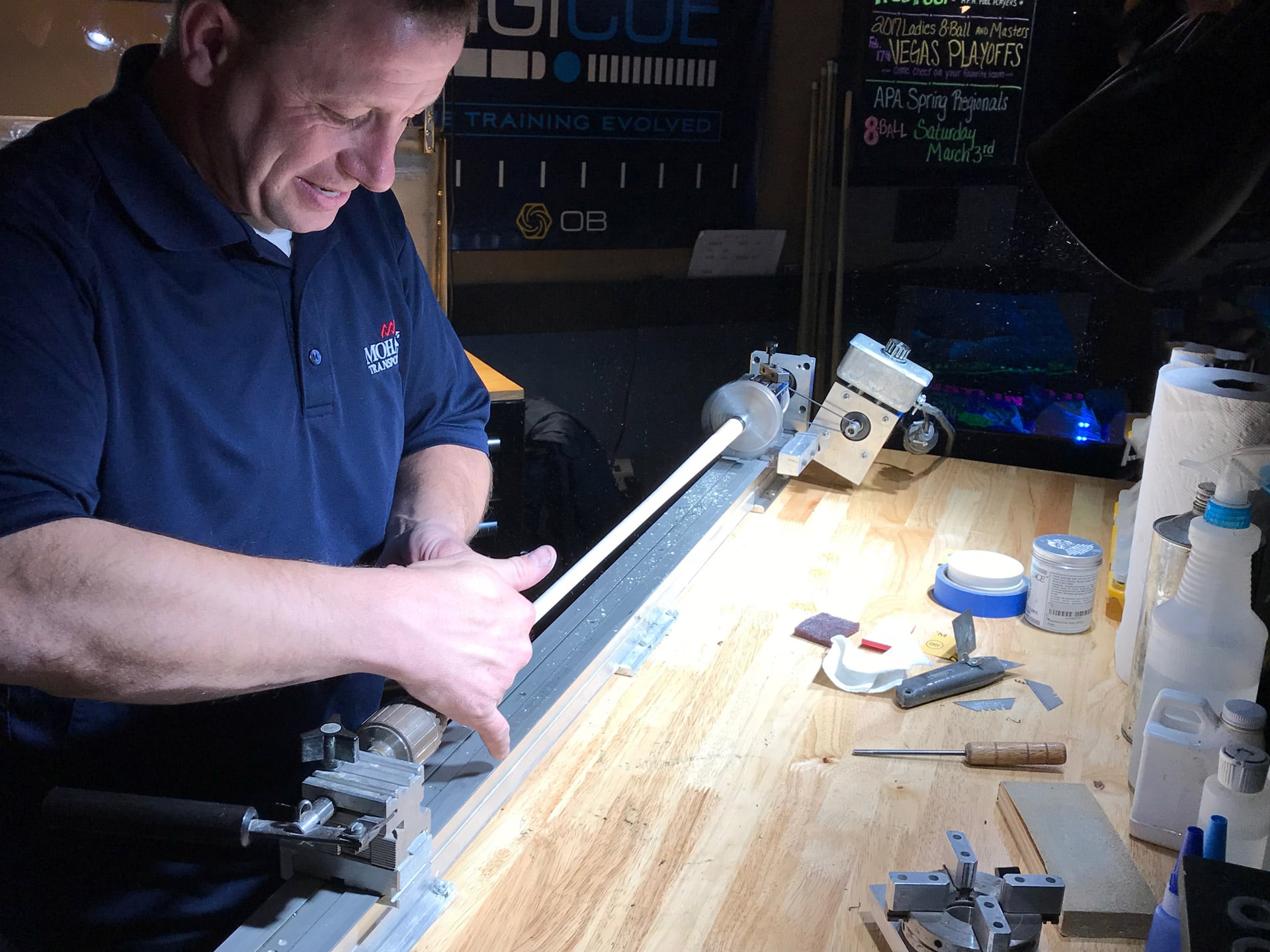 Pool Billiards Cue Repair - Birmingham Billiards Pro Shop